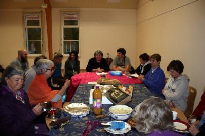 AG et petit repas sympathique entre adhérents